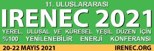 IRENEC 2021 10. Uluslararası Yenilenebilir Enerji Konferansı